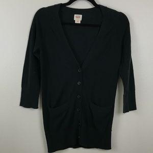 3/$20 Mossimo 3/4 Sleeve Pocket Cardigan Sweater